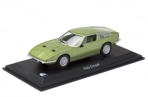 Maserati Indy Coupe 1969 Leo Models 1:43