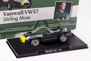 Vanwall VW57 Stirling Moss 1957