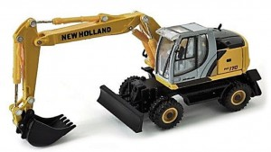 Koparka New Holland WE170 Cararama 1:87
