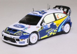 Ford Focus WRC D.Sola/ X.Amigo Rally Mexico 2005 IXO 1:43