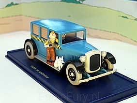 Tintin TAXI Checker 1929
