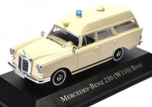 Mercedes-Benz 230 W110 Binz Atlas 1:43
