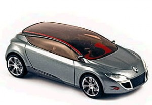 Renault Megane Coupe Concept Provence Moulage 1:43