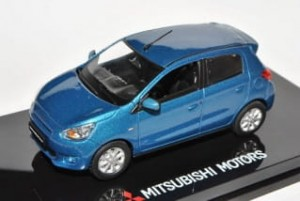 Mitsubishi Space Star blue Vitesse 1:43