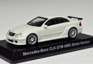 Mercedes-Benz CLK DTM AMG Street Version white Kyosho 1:64