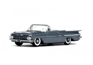 Chevrolet Impala Open Convertible 1959 Grecian Gray