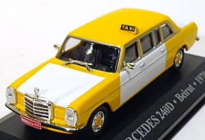 Merceders-Benz 240D TAXI Beirut 1970