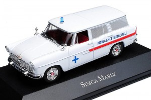 Simca Marly Ambulance Municipale