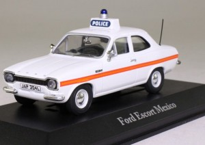 Ford Escort Mexico Sussex Police Atlas 1:43