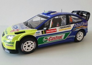 Ford Focus RS WRC Wales Rally 2007 M.Hirvonen