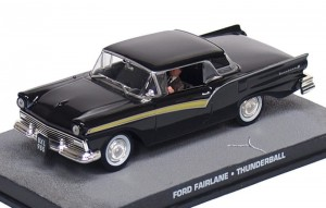 "Ford Fairlane James Bond ""Thunderball"""