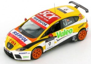 Seat Leon TDi  WTCC 2008 J.Gene J Collection 1:43