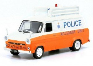 Ford Transit MkI Police Accident Unit De Agostini 1:43