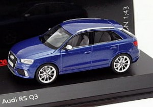 Audi RS Q3 blue Schuco 1:43