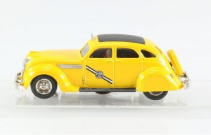 Chrysler Airflow TAXI 1935 Rextoys 1:43