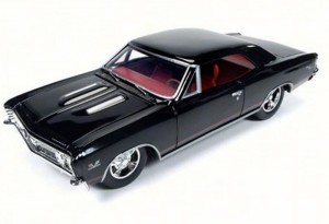 Chevrolet Chevelle SS 1967 Auto World 1:24