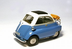 BMW Isetta 250 blue
