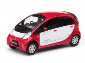 Mitsubishi i MiEV  2007 red/white