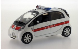 Mitsubishi i-MIEV 2010 Hong Kong Police J Collection 1:43