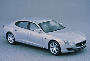 Maserati Quattroporte GTS gray Whitebox 1:43