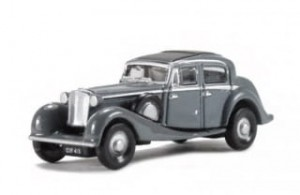 Jaguar SS gray Oxford 1:160