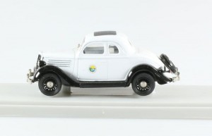 Ford Coupe Police Montana 1935