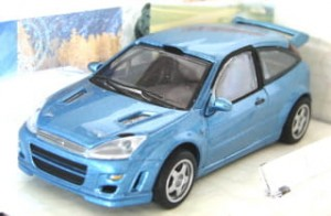 Ford Focus WRC blue