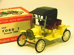 Ford T Roadster 1907 Rami 1:43