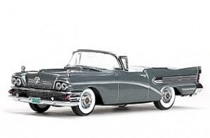 Buick Special 1958 gray Vitesse 1:43