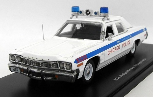 Auto World model samochodu Dodge Monaco Chicago Police 1974.jpg