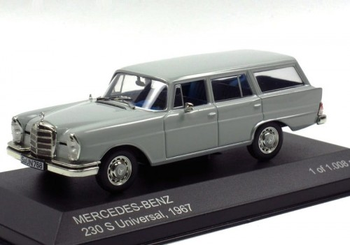 Whitebox metalowy model samochodu Mercedes-Benz 230S Universal 1967.jpg