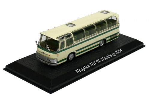 Atlas metalowy model autobusu Neoplan NH 9L Hamburg 1964.jpg