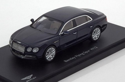 Kyosho metalowy model samochodu Bentley Flying Spur W12 dark sapphire.jpg