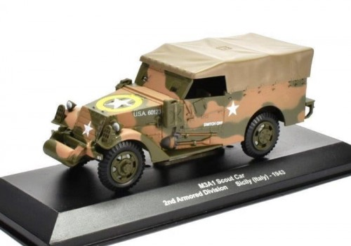 Eaglemoss M3A1 Scout 2nd Armored Division Sicily Italy 1943.jpg