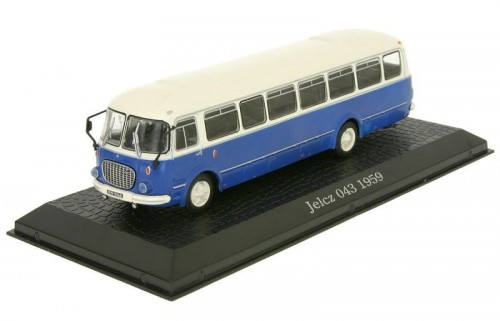 Atlas metalowy model autobusu Jelcz 043 1959.jpg